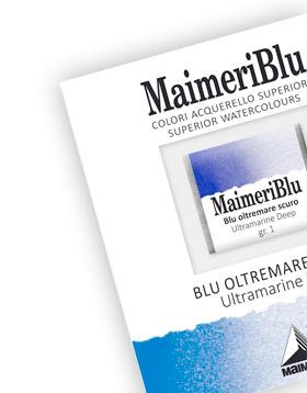 colori ad acquarello maimeri blu negozio belle arti firenze
