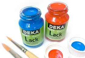colori per la decorazione deka lack, colori per la decorazione, smalto acrilico deka lack, negozio belle arti firenze