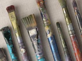 colori acrilici iocreativo prezzi pennelli tintoretto belle arti firenze
